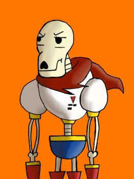 Annoyed papyrus by barnowlgurl23
