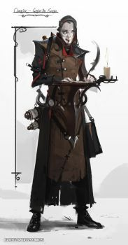 FIELD OF THORNS - GRAHAM THE SCRIBE by Caisne