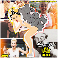 Miley Cyrus ''We Can't Stop'' Video Doll by PrettyLadySwag