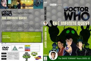 The Infinite Quest Classic DVD Cover Variant by theDoctorWHO2