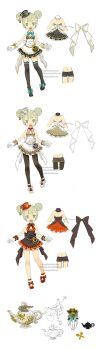 DragonNest restaurant costume Academic by ZiyoLing