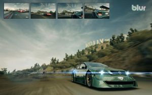 BLUR Opel Astra Extreme Walls by drdrevil