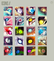 + Icon Collection by moxiv