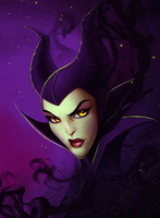 Maleficent by victter-le-fou