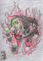 The 2 Psychos by Pltnm06Ghost