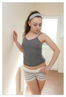 Kacie after the Gym 01 by 365erotic