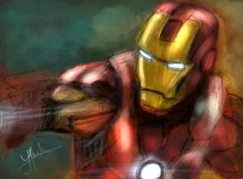 The Iron Avenger by Yabbus23