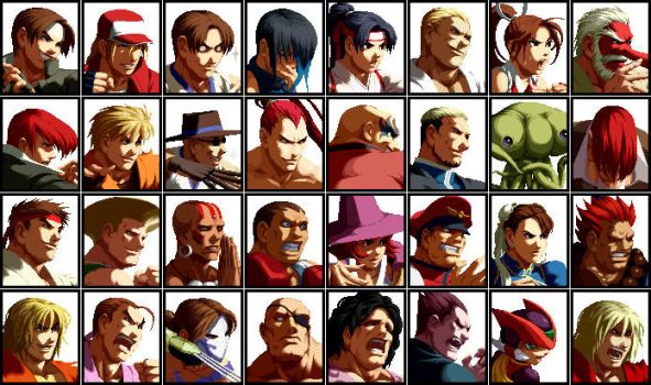 SVC Chaos Cast by topdog4815