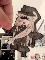 Undertaker Paper Child by blue-ember333