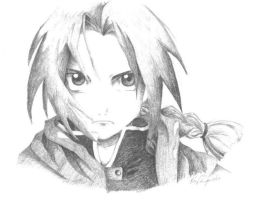 Edward Elric by Kkarrot
