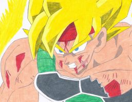 I am Bardock!!! The Legendary Super Saiyan!!!! by Kaizer617