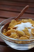 Corn Cereal 11343391 by StockProject1
