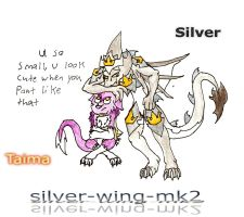 Silver and Young Taima by silver-wing-mk2