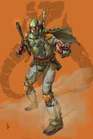 Boba Fett by HaphazardMachine