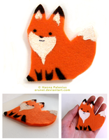 Felt Fox 02 by Erunei