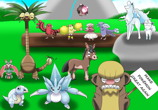 Even more Alola Pokemon (plus Alola Forms!) by SuperPikachuLover123