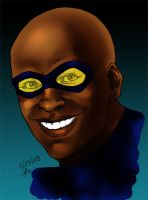 Black Lightning - Color by shoxnoia