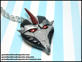 Starscream Necklace by GrandmaThunderpants