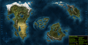 Luminaire World Map by Blazbaros