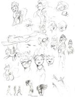 Spitfire Test Sketches by Mattings