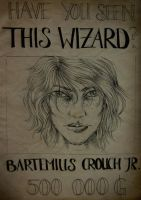 Barty Crouch Jr. - Wanted by FarrahPhoenix