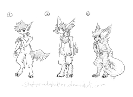 Werewolf adopties Two +Closed+ by Stephys-Adoptables