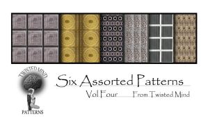 Twisted Mind Assorted Pattern Vol Four by Textures-and-More