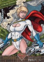 Superman the Legend - Powergirl by tonyperna