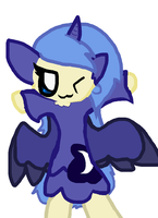 Princess Luna by dragonsweater