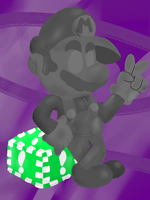 Metal Mario by PoisonLuigi