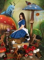 American McGee's Alice Garden 2 by ThePrincessNightmare