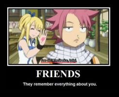 Natsu is such a good friend... by KKBossa