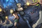 Resident Evil 4 by Holly-the-Laing