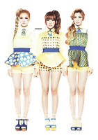 PNG : Orange Caramel by chazzief