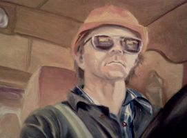 My Dad, The Truck Driver by sadisticshiver
