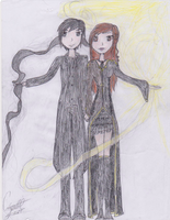 Alina and The Darkling at the Winter Fete by timefairy237
