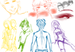 OC Rainbow Plethora by sealida
