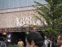akb48- the cafe by Shinigamichick39