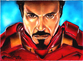 ACEO PSC Tony Stark by chrisfurguson