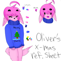 Oliver's 2013 X-Mas Ref Sheet by Ask-Ookami-2pEngland