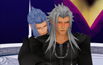 MMD Xemnas and Saix(Yaoi) by BaskervilleLacie28