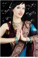 STOCK photo - Bollywood princess by feeora