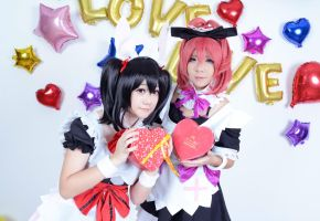Love Live cosplay by GreenTea-Ice