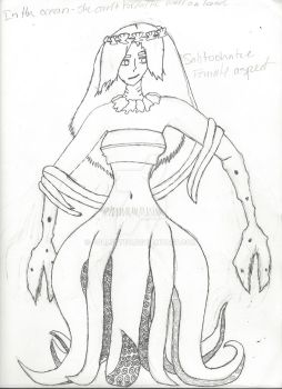Female Aspect of a god for APWH (WIP) by Collettey