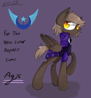 Agis - For The New Lunar Republic Comic by scootaloocuteness