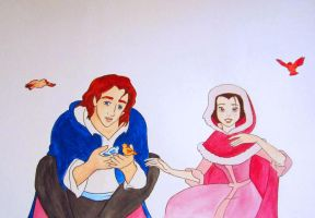 Adam and Belle by valeriemary309
