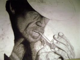 Marlboro Man WIP by swiftlogix