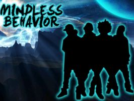 Another Mindless Behavior Silhouette by iNiecyLovesYou