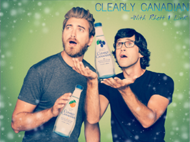 Clearly Canadian with Rhett and Link by StellarConstellation