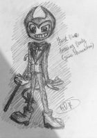Bendy and the ink machine-Bendy fanart by Velatina-young